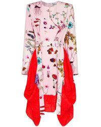 Stella McCartney シルク フローラル ドレス - ピンク