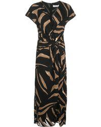 Prabal Gurung Jacqueline Wrap-style Dress - Black