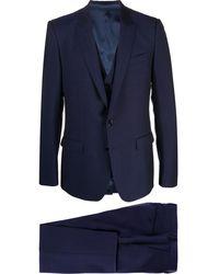 Dolce & Gabbana Driedelig Maatpak - Blauw
