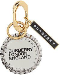 Burberry Bottle Cap Charm - Metallic