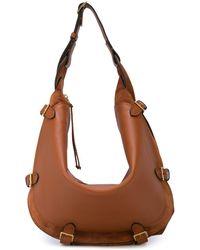 Altuzarra Large Play Shoulder Bag - Brown