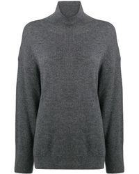 Nanushka Pippa リブニット セーター - グレー