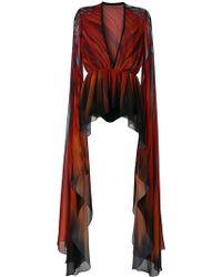 Elie Saab Long Sleeve Kaftan - Multicolor