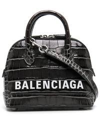 Balenciaga Ville Tas Met Handgreep - Grijs