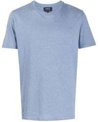 A.P.C. 'Jimmy' T-Shirt - Blau