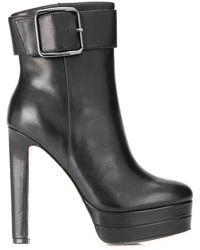 Liu Jo Platform Ankle Boots - Black