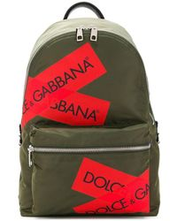 Dolce & Gabbana - Рюкзак С Логотипом - Lyst