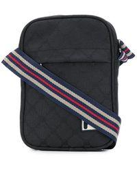Fila Contrast Logo Messenger Bag - Black