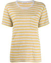Alexander Wang Stripe Top - Yellow