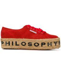 Philosophy Di Lorenzo Serafini - Superga X Philosophy スニーカー - Lyst