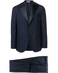 Boglioli Zweiteiliger Anzug - Blau