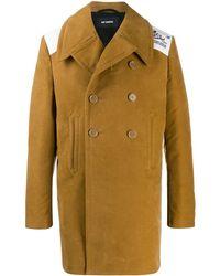 Raf Simons Double-breasted Coat - Multicolour