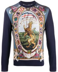 Dolce & Gabbana - Dg King セーター - Lyst