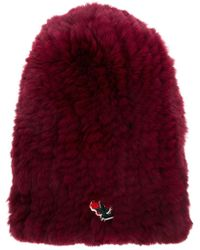 Undercover - Embroidered Beanie Hat - Lyst