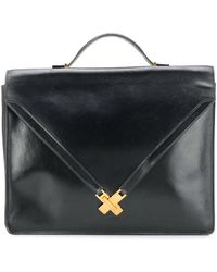 Hermès Pre-owned Skelly Briefcase - Black