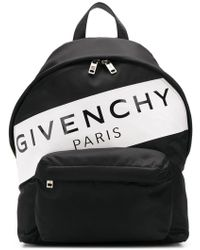 Givenchy - Logo Print Nylon Backpack - Lyst