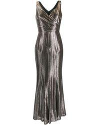 Lauren by Ralph Lauren - メタリック ドレス - Lyst