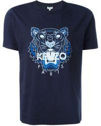 KENZO Tiger Tシャツ - ブルー