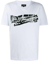 Les Hommes - プリント Tシャツ - Lyst