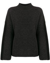 Pringle of Scotland Ribbed knit sweater - Grigio