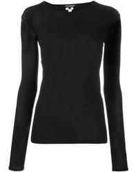 Junya Watanabe ラウンドネック Tシャツ - ブラック