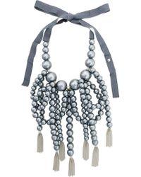 Moy Paris - Collana Con Perle Oversize - Lyst