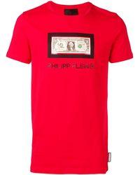 Philipp Plein - Dollar Tシャツ - Lyst