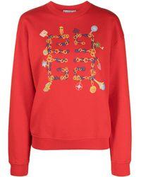 Givenchy ロゴ スウェットシャツ - レッド