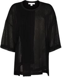 Y-3 Shade Airy Gauze Tシャツ - ブラック