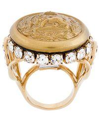 Dolce & Gabbana | Lion Signet Ring | Lyst