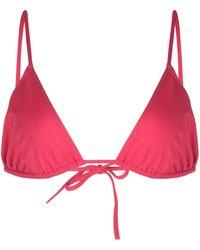 Eres Top bikini con laccetti - Rosa