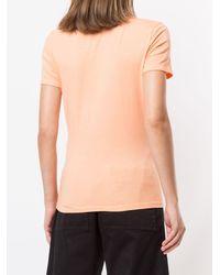 PROENZA SCHOULER WHITE LABEL ロゴ Tシャツ - オレンジ