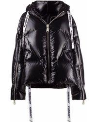 Khrisjoy Iconic フーデッド パデッドジャケット - ブラック