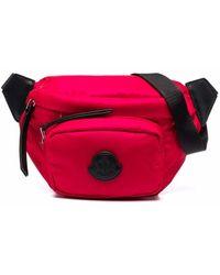 Moncler ロゴパッチ ベルトバッグ - ピンク