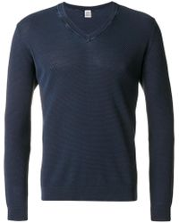 Eleventy - V-neck Pullover - Lyst