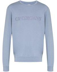 C.P. Company ロゴ スウェットシャツ - ブルー