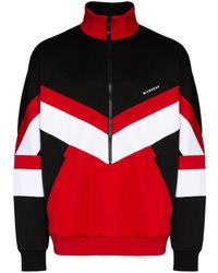 Givenchy Colour-block Zip-up Sweatshirt - Black