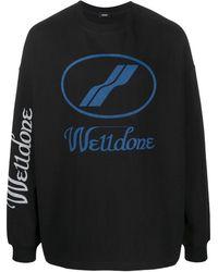 we11done - ロゴ スウェットシャツ - Lyst