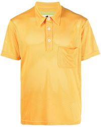 Anglozine Short-sleeved Polo Shirt - Yellow