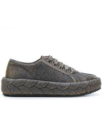 Marco De Vincenzo - Padded Lace-up Sneakers - Lyst