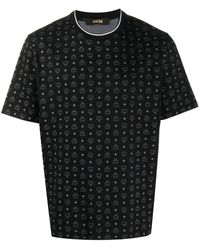 MCM Футболка С Логотипом - Черный