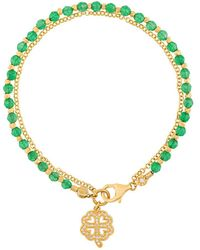 Astley Clarke - Four Leaf Clover Biography Bracelet - Lyst