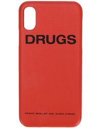 Raf Simons Drugs Iphone X ケース - イエロー