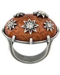 Bottega Veneta - Ring mit Nieten - Lyst