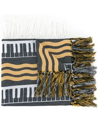 Undercover - Striped Scarf - Lyst