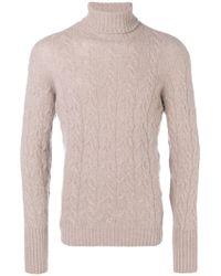 Drumohr - Roll-neck Fitted Sweater - Lyst
