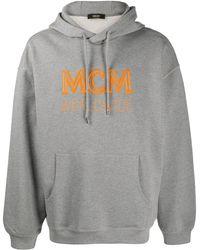 MCM ロゴ パーカー - グレー