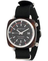 Briston Clubmaster Diver Horloge - Zwart