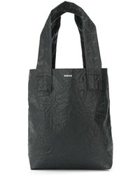 Zucca - Crinkle Effect Tote Bag - Lyst