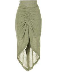Kitx - Ruched Pencil Skirt - Lyst